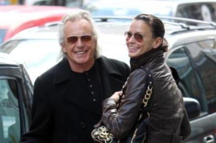 Peter Stringfellow and Bella
