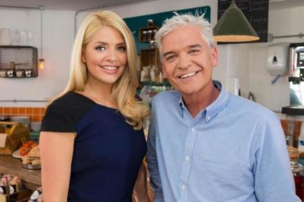 Holly Willoughby with This Morning co-star Phillip Schofield