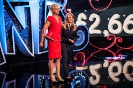 Phillip Schofield and Holly Willoughby swap for Text Santa
