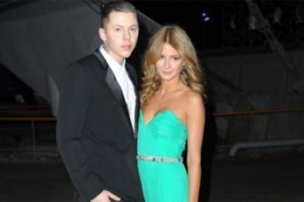 Professor Green and Millie Mackintosh at the Brits this year