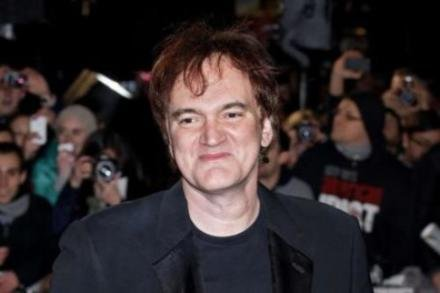 Quentin Tarantino at the 'Django Unchained' UK premiere
