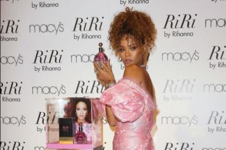 Rihanna at her perfume launch