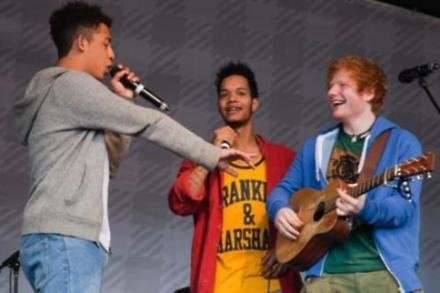 Rizzle Kicks performing at Nando's GigNics