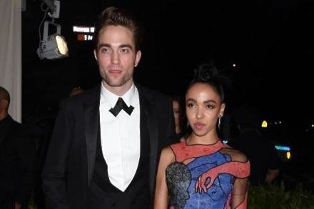 Robert Pattinson with Fka Twigs