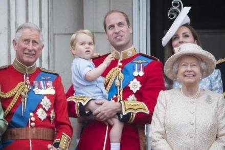 Prince William with Prince George