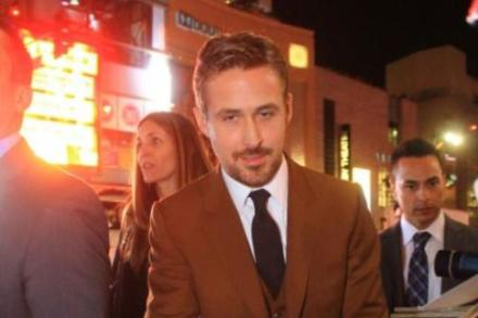 Ryan Gosling at the 'Gangster Squad' premiere