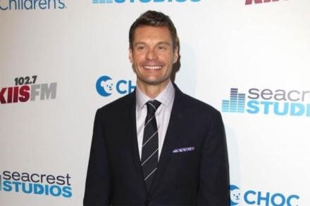 Ryan Seacrest at the Globes