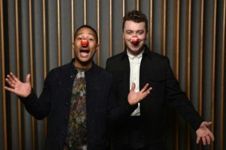 Sam Smith and John Legend for Comic Relief