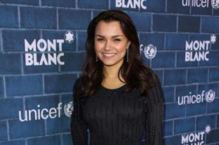 Samantha Barks at the Montblanc / UNICEF 'Signature for Good' brunch