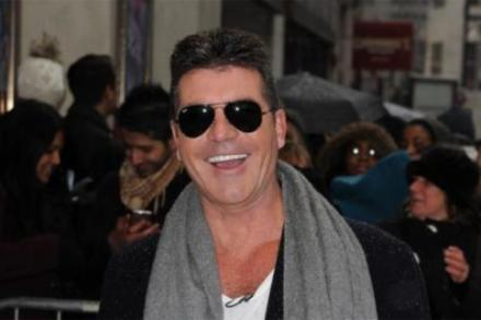 Simon Cowell in London on Sunday