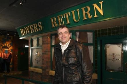 Simon Gregson will return to the rovers in three months time