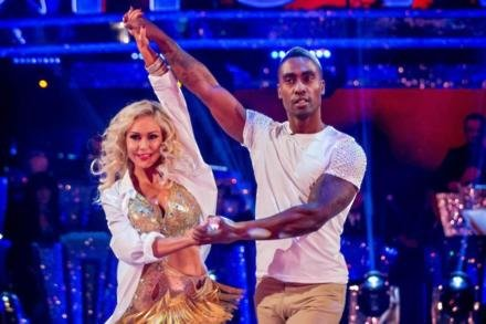 Simon Webbe and Kristina Rihanoff