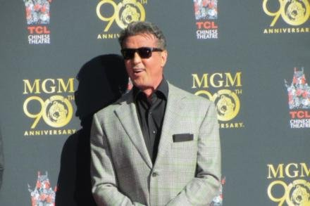 Sylvester Stallone at the TCL Chinese Theatre in Hollywood
