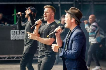 Take That at BBC Radio 1's Big Weekend Exeter 2016