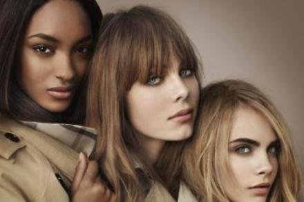 The Burberry Beauty campaign