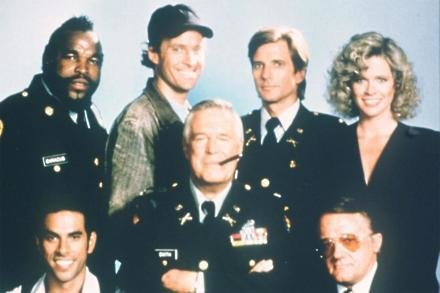The original A-Team cast