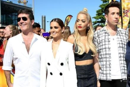 The X Factor 2015 judges