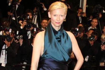 Tilda Swinton is the face of Pringle