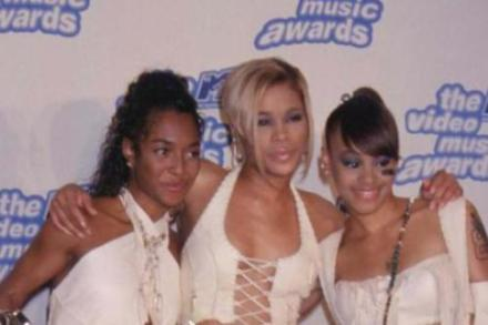 TLC in their 90s heyday