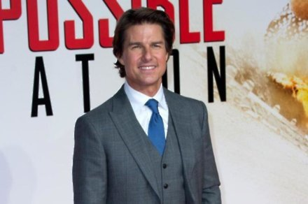 Tom Cruise at the Mission: Impossible - Rogue Nation screening