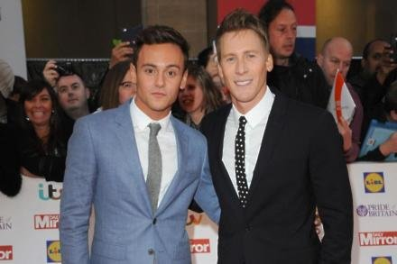 Tom Daley and fiance Dustin Lance Black