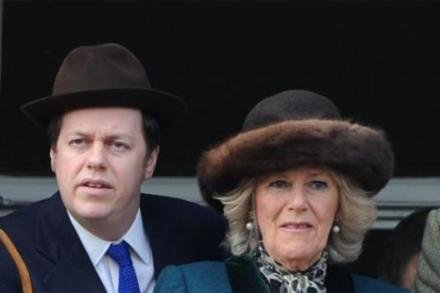 Tom Parker Bowles and Camilla, the Duchess of Cornwall