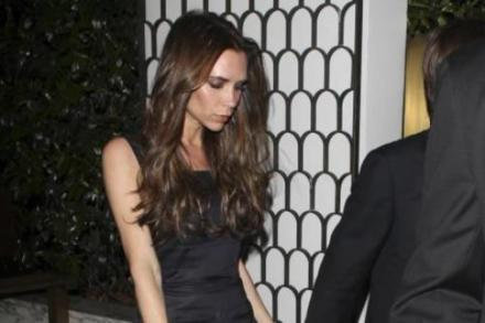 Victoria Beckham has suffered with her skin