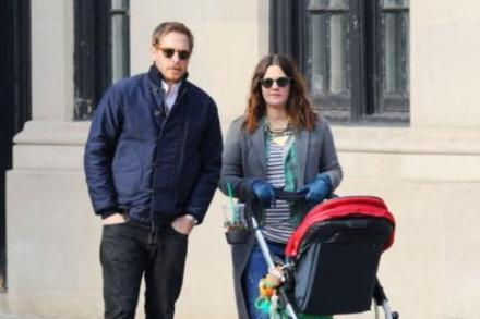 Drew Barrymore, Will Kopelman and daughter Olive