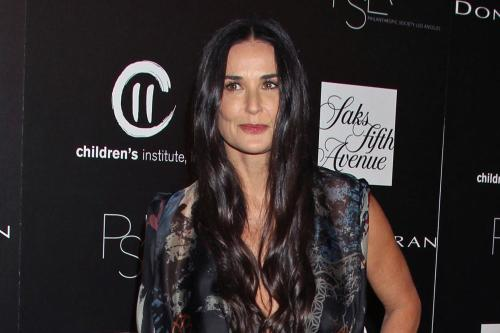 Demi Moore In Shock After Dead Man Found In Her Pool