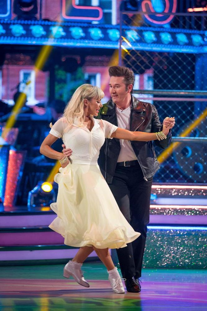 Daniel O'Donnell and Kristina Rihanoff on Strictly