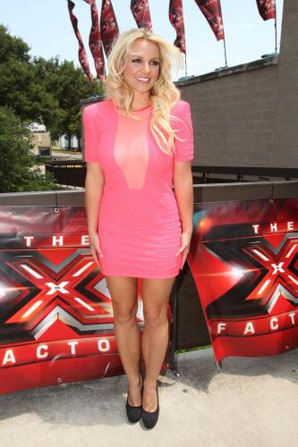 Britney Spears at 'The X Factor' auditions