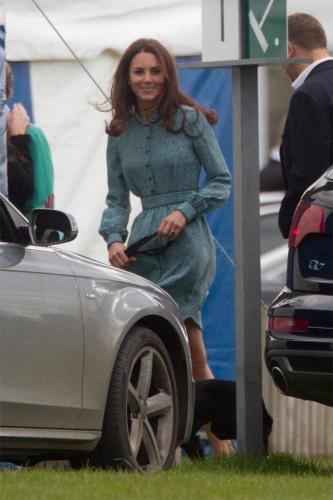 Duchess Catherine at Cowarth Park Polo Club