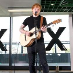 Ed Sheeran performed live for customers at the #AmazonFrontRow event at the Amazon London office roof top. For more information on Amazon Music visit
