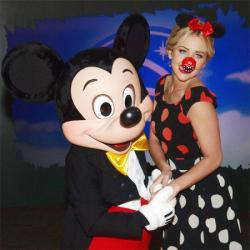 Lydia Bright at the launch of Disney's Comedy Magic fundraising campaign for Red Nose Day