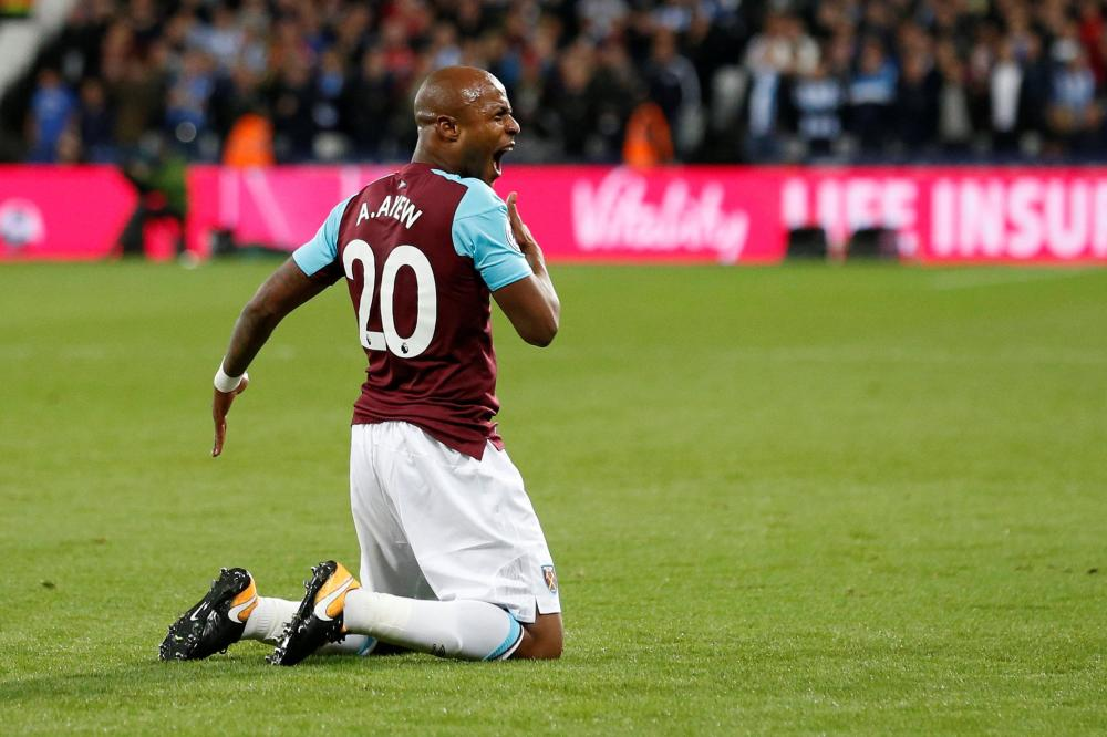 Ayew has unfinished business