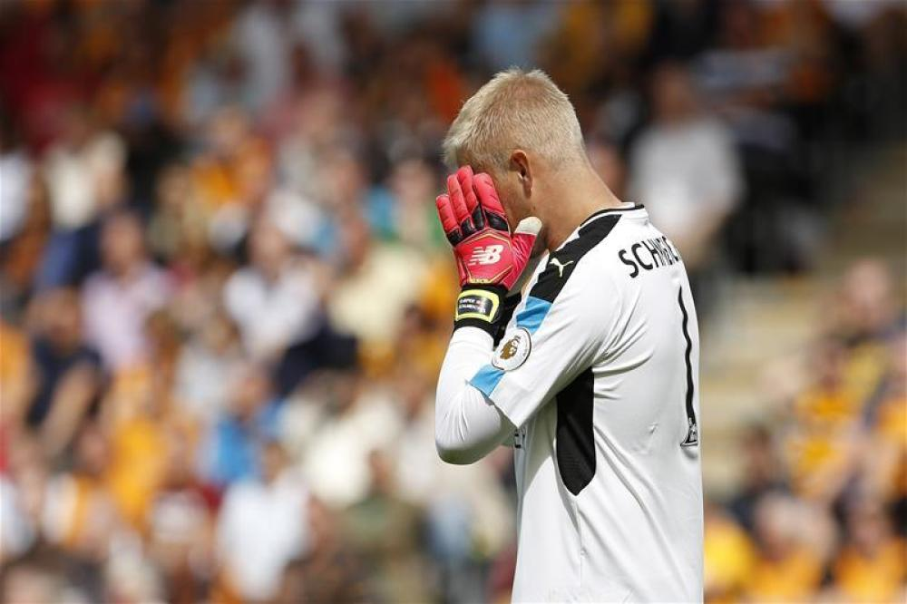 Schmeichel refusing to press panic button