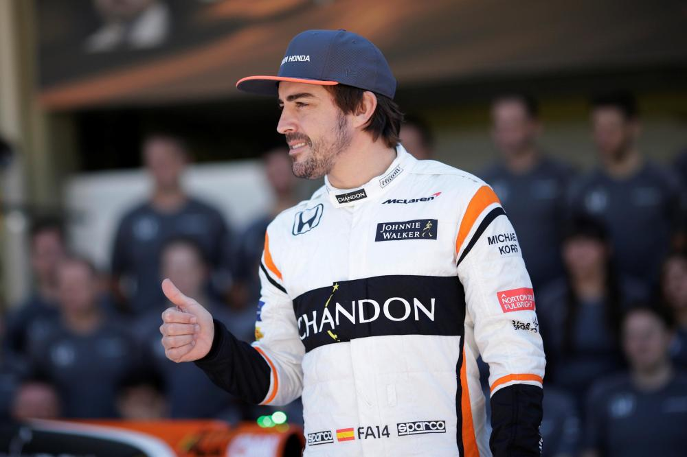 Alonso optimistic of McLaren progress