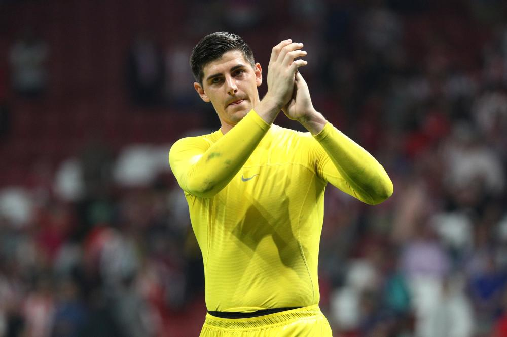 Courtois targets victory over United