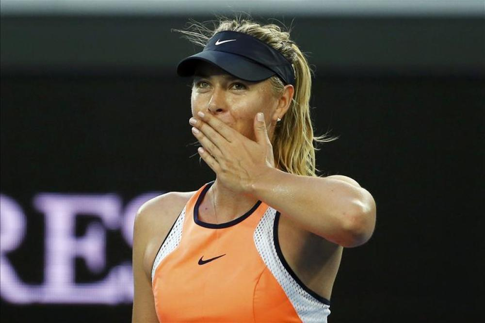 Sharapova glad to be back