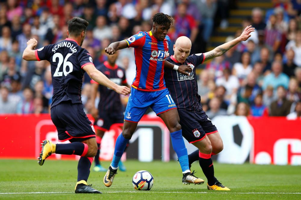 Zaha looking at Blues return