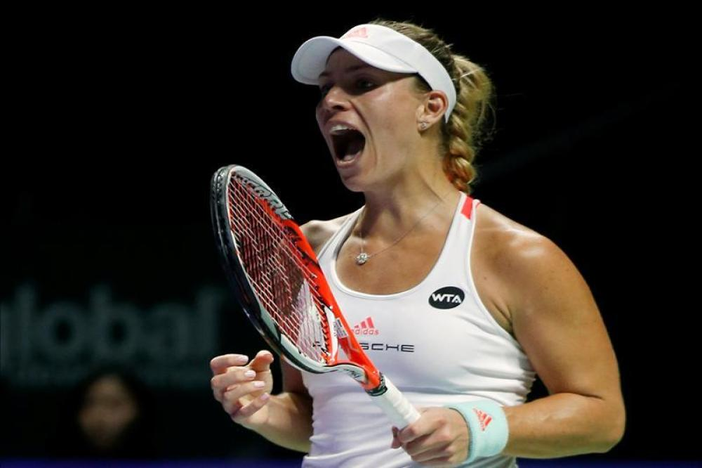 Kerber ends trophy drought