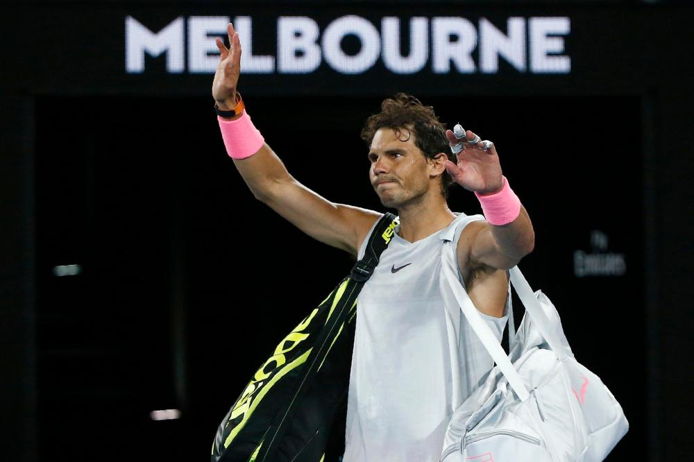 Nadal bows out in Melbourne