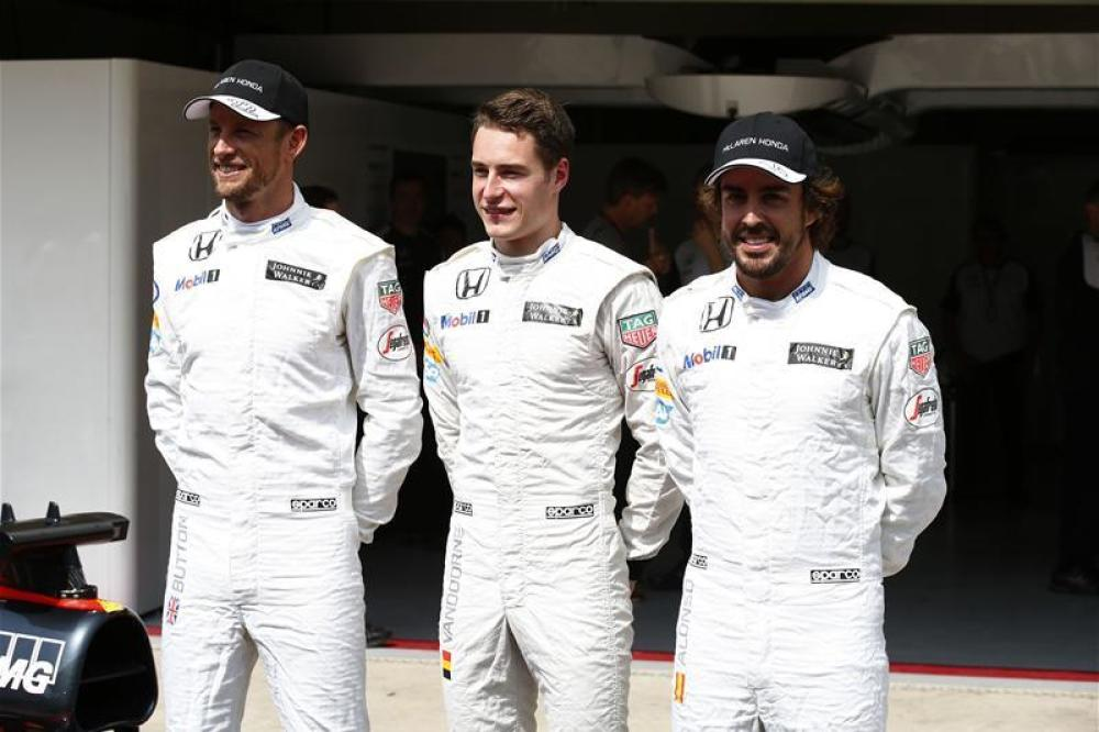 No pressure on Vandoorne