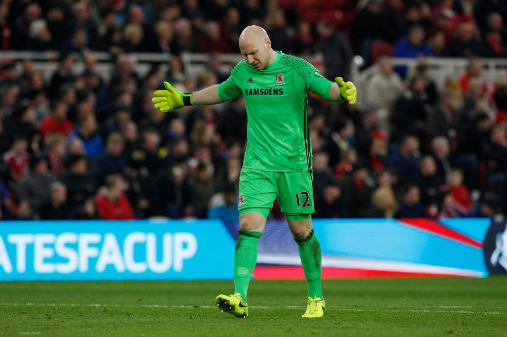 Guzan wins Agnew backing