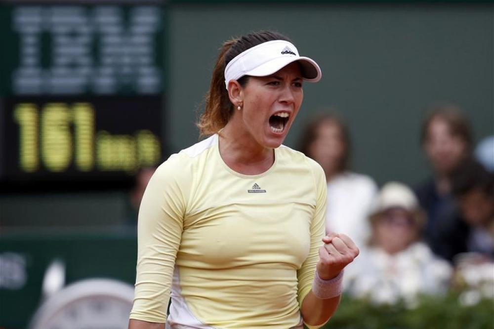 Martinez reunites with Muguruza