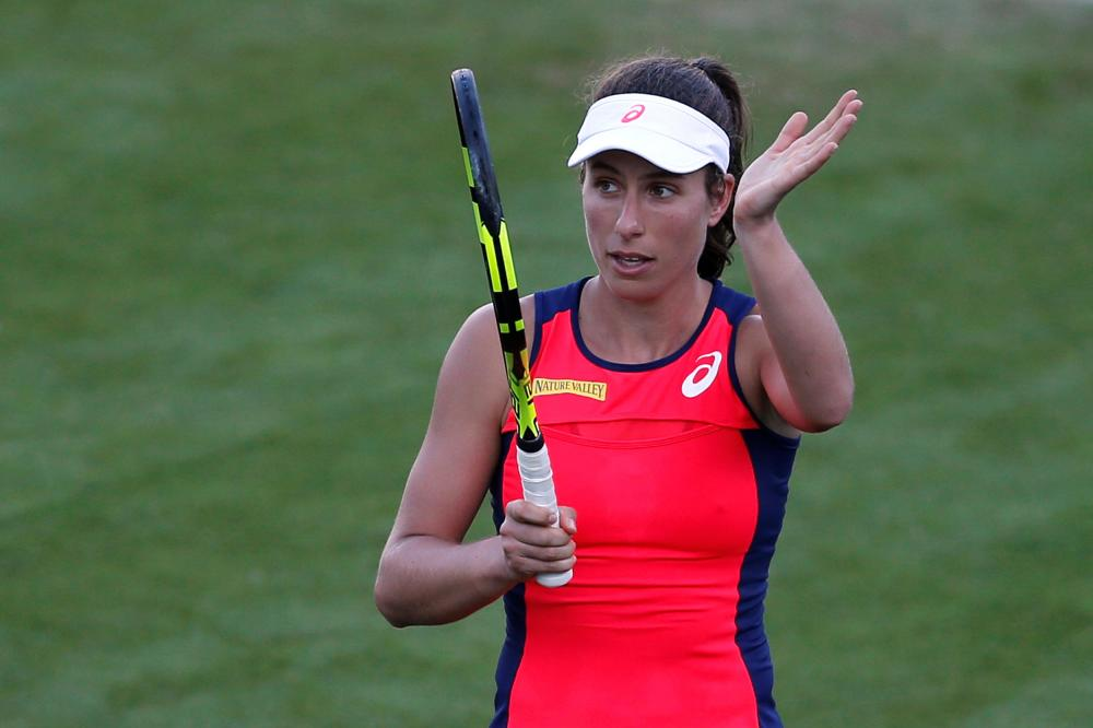 Konta progresses in Qatar