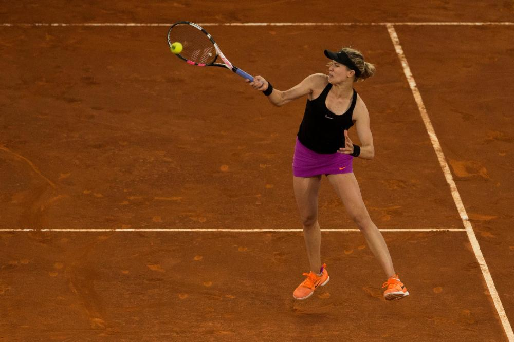 Bouchard grateful for Agassi chat
