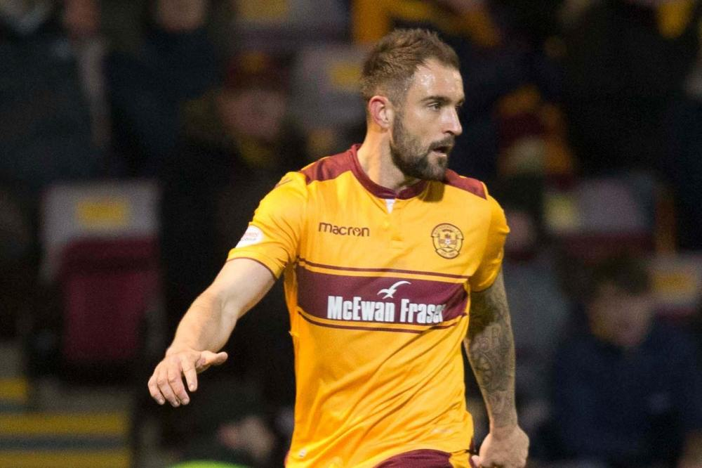 Blow for Motherwell as Hartley out for at least two months with foot injury