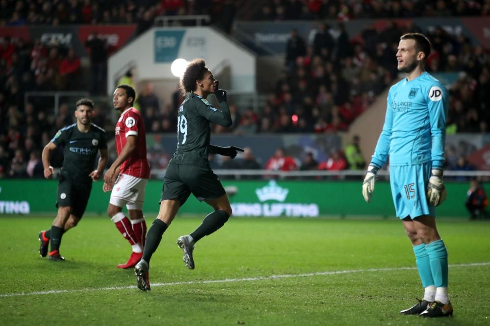 Manchester City end Bristol City's fine run to reach Carabao Cup final