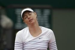 Sharapova sweating on French Open wildcard